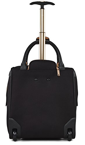 Ted Baker Womens Albany Softside Wheeled Business Case (One Size, Black) by Ted Baker (Image #3)