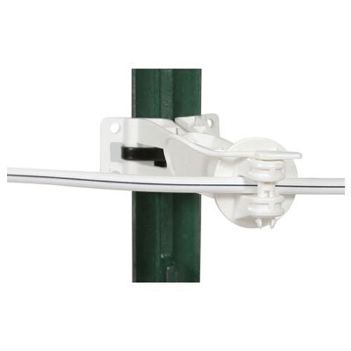 Gallagher G694134 20-Pack Universal Offset Electric Fence Insulator, 5-Inch, White
