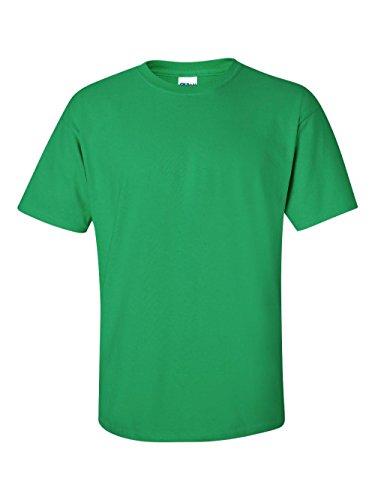 Gildan Men's Ultra Cotton Tee, Irish Green, Large