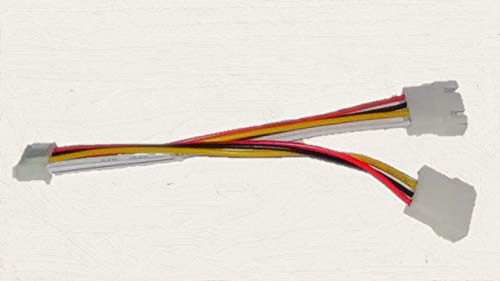 3D Printer Stepper Motor Parallel Y Cable  Perfect for Mainboard Upgrades   Works on Anet Tronxy Creality and Many More