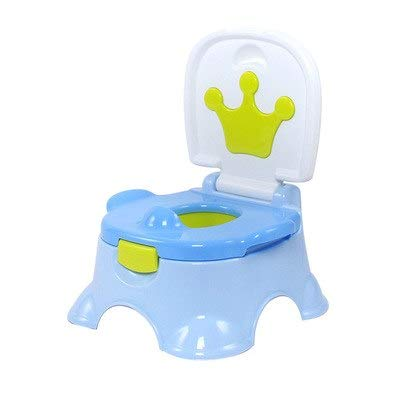 Autumn Water Baby Toilet Cute Cartoon Crown Baby Potty Portable Travel Cars Child Potty Chair Training Girls Boy Kids Toilet Seat Child Pot by Autumn Water