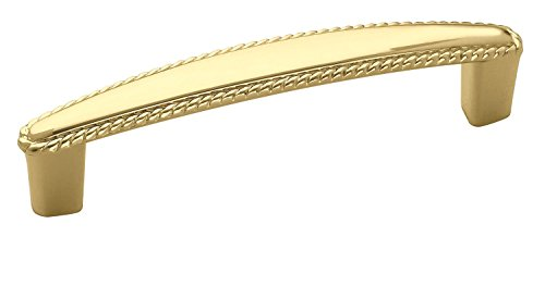 - Amerock BP530043 Allison Value 3-3/4 in (96 mm) Center-to-Center Polished Brass Cabinet Pull