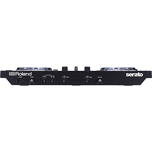 Roland DJ-505 2-channel 4-deck Serato DJ Controller with 1 Year EverythingMusic Extended Warranty Free