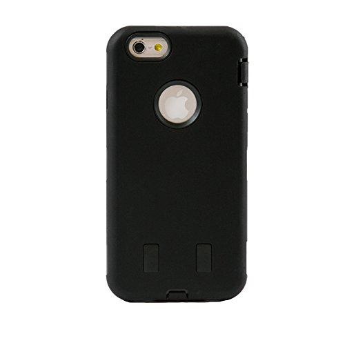 """iProtect housse de protection dur Hard Case robuste anti-choque Apple iPhone 6 (4,7"""") en noir"""