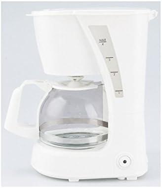 Lauson Cafetera por Goteo para 6 tazas de café, 0,625L de capacidad, Filtro de Nylon extraíble, Antigoteo y antideslizante, 600W, Blanco: Amazon.es: Hogar
