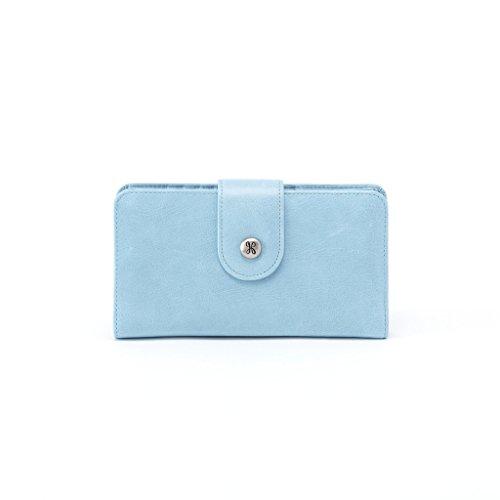 Hobo Vintage Leather Danette Wristlet Wallet - Blue Mist by HOBO