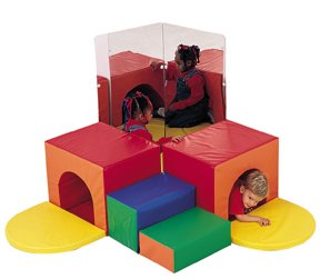 Children's Factory Corner Tunnel Climber