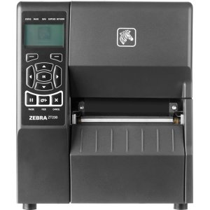 (Zebra ZT23042-D31100FZ ZT230 Direct Thermal Printer - Monochrome - Desktop - Label Print - 4.09 inch Print Width - Peel Facility - 6 in/s Mono - 203 dpi - USB - Serial - Parallel - LCD)