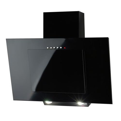 range cate kitchen series ciarra hood slant black fan chimney extractor angled glass cooker