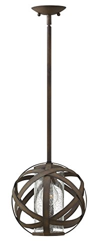 (Hinkley Lighting Carson Vintage Iron Outdoor w/ 1 Light 100W)