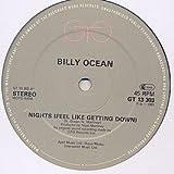 Billy Ocean - Nights (Feel Like Getting Down) - GTO - GTLP 049, GTO - GTLP 49, GTO - FE 37406