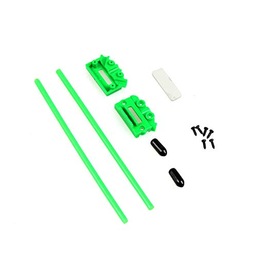 Part & Accessories F17308-5/Q14709 5X Receiver Antenna Fixing Seat Mount Holder Pedestal Box V Type for CC3D Atom Mini RC Multirotor FPV Quadcopter - (Color: GREEN) ()