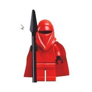 LEGO Star Wars LOOSE Mini Figure Imperial Royal Guard with Force (Imperial Guard Starwars)