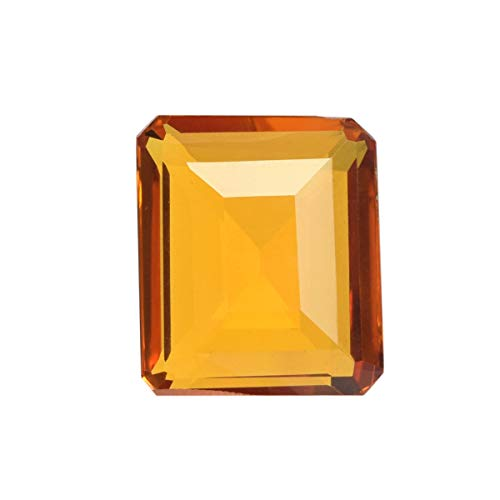 Citrine 111.50 Ct Emerald Cut Yellow Citrine, Jewelry Making Brazilian Citrine Gemstone for Pendant