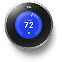 Nest 2nd Generation 7-Day Learning Wi-Fi Programmable Thermostat