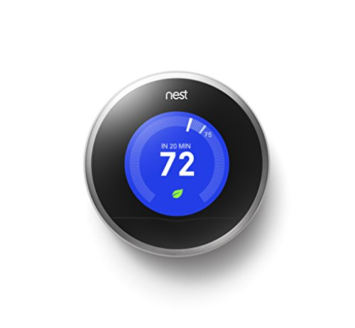 Nest Learning Thermostat, 2nd Generation, Works with Alexa (Best Geothermal Heat Pump Brand)