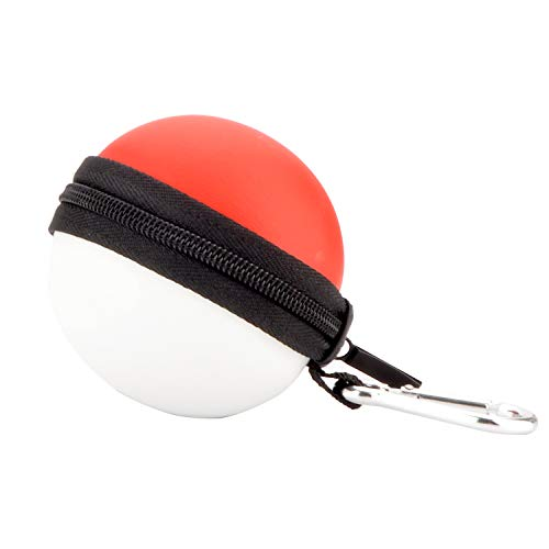 Arisll Carry Case for Poke Ball Plus Pokemon Lets Go Pikachu Eevee Game (Package Lost By Carrier)