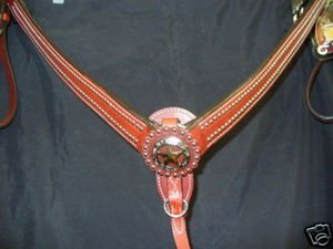 (Weaver Texas Star Breast Collar Breastcollar Horse Tack)