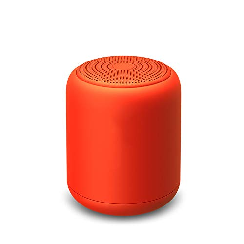 Wireless Bluetooth Speaker, Cannon Outdoor Mini Waterproof Card Subwoofer Can Be Used for Outdoor Leisure Family Party Office Entertainment,Red
