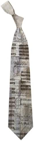 Mens 100% Silk Doxology Hymn Christian Religious Necktie Tie Neckwear