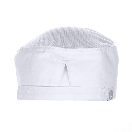 Chef Works Unisex Cool Vent Chef Beanie, White One Size