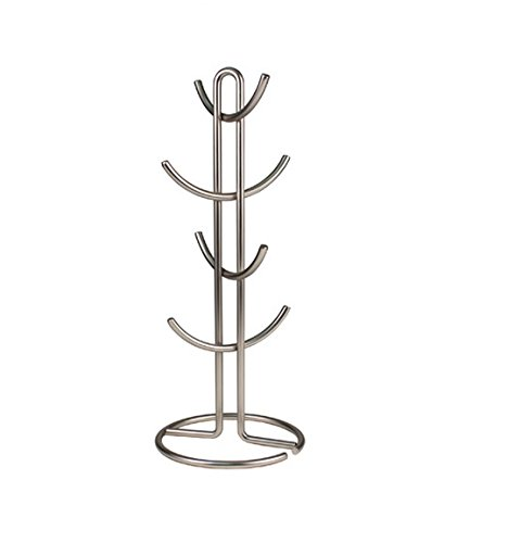 Spectrum Diversified Euro Mug Holder, Large, Satin Nickel