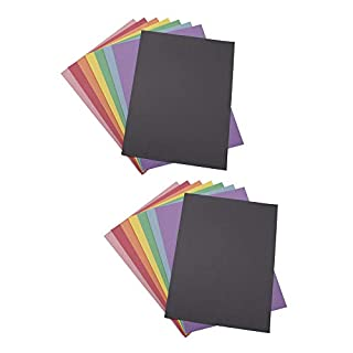 "Crayola Construction Paper 9"" x 12"" Pad, 8 Classic Colors (96 Sheets), Great for Classrooms & School Projects (Pack of 2)"