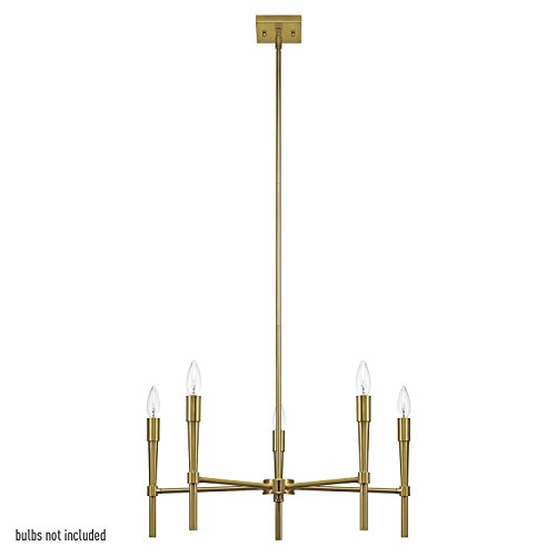 Globe Electric 5 Light Chandelier 65611