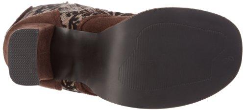 Demonia CRYPTO-301 Brown MF-Tweed Size UK 3 EU 36