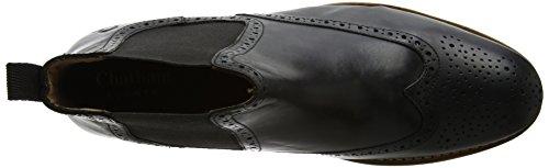 Chatham ChathamDudley II - Botas Chelsea Hombre, Color Negro, Talla 47