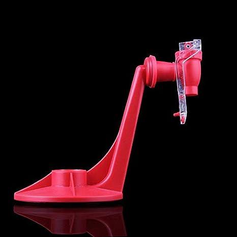 Peepheaven Máquina de Agua para Beber dispensador de refrescos para Tomar en la Mano con refresco de refresco de Soda portátil -Red: Amazon.es: Hogar