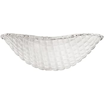 "Possini Euro Design Crystal 11"" Round Ceiling Fan Light"