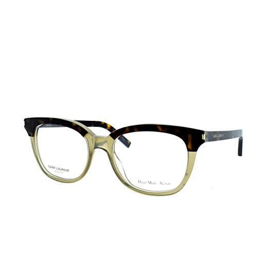 Yves Saint Laurent Sl 11 Eyeglasses-02YE Dark Havana Olive-50mm