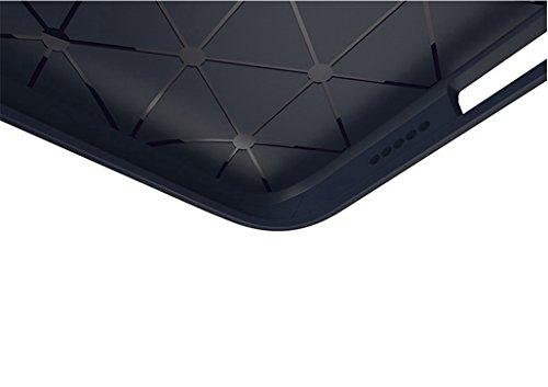 Funda Huawei P10 Lite,Funda Fibra de carbono Alta Calidad Anti-Rasguño y Resistente Huellas Dactilares Totalmente Protectora Caso de Cuero Cover Case Adecuado para el Huawei P10 Lite C