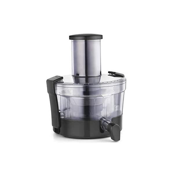 USHA FP 3811 1000-Watt Copper Motor Food Processor with 13 Accessories (Premium SS Finish , Black and Steel )