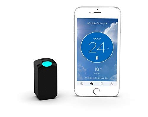 """Wynd Wearable Air Quality Tracker Bundled with A Free EBook """"What's in Your Air?"""""""