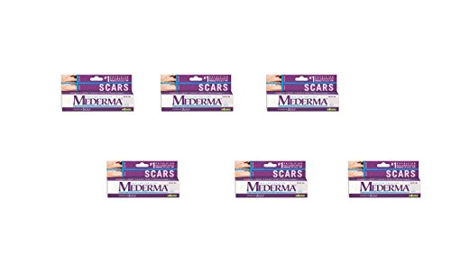 Pack of 6 - Mederma Gel Skin Care for Scars 10g