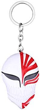 Animation BLEACH accessories red mask alloy key chain