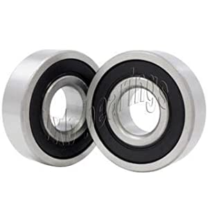 2pcs 15268 2RS Ball Bearing Rubber Sealed For Rear Hub Bicycle Bike 15X26X8mm