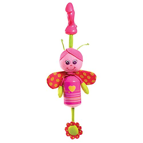 - Tiny Love Smarts Wind Chime Clip on Toy, Baby Butterfly