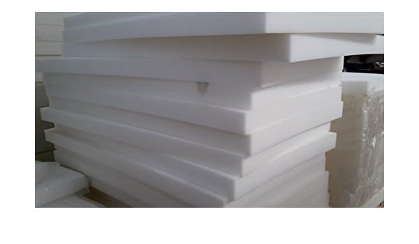 5 piezas goma-espuma Tapicería Placas de goma espuma Espuma Colchón 120 x 60 x 6cm: Amazon.es: Jardín