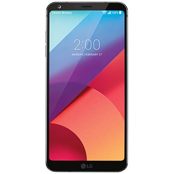 LG G6, VS988 32GB Black - Verizon Wireless (Renewed) ()