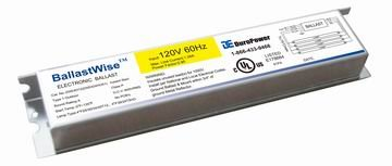 Lighting Aquarium Ballast (BallastWise T5 grow light ballast with wires (DXE424HO51) for 4 F24T5 Bulbs)