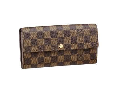 Louis Vuitton Damier Sarah Cartera m61734 incluye protector ...