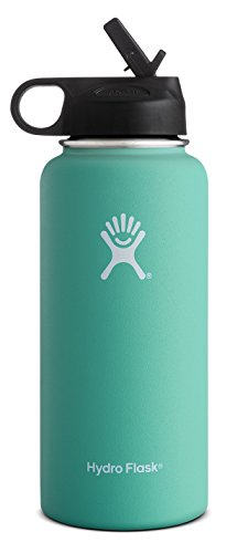 Hydro-Flask-Wide-Mouth-BPA-Free-Insulated-Sports-Water-Bottle-Straw-Lid