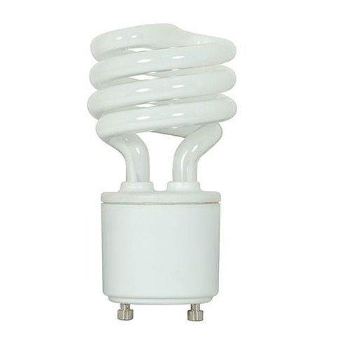 11 Watt Ballast - Kichler Lighting 4074 11-watt GU24 Base Spiral Self Ballast Compact Fluorescent Lamp, Frosted by Kichler