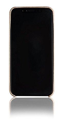 Spada 4052335032634 Alcantara Cover für Apple iPhone X beige