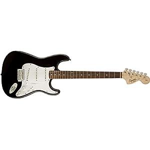 Fender Squier Affinity Stratocaster, Black, Laurel Fingerboard
