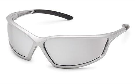 Gateway Safety 41GB79 4x4 Contemporary Wraparound Safety Glasses Black Frame Inc Clear Anti-Fog Lens