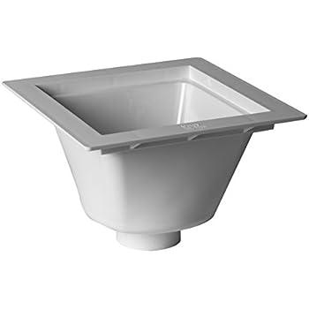 Proflo Pf42855 12 Quot X 12 Quot Pvc Floor Sink Less Grid